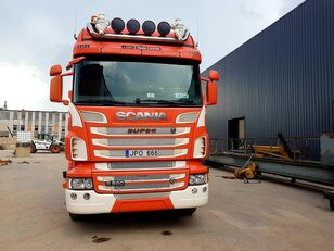 SCANIA R560 timber truck