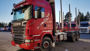 SCANIA R560 6x4 timber truck