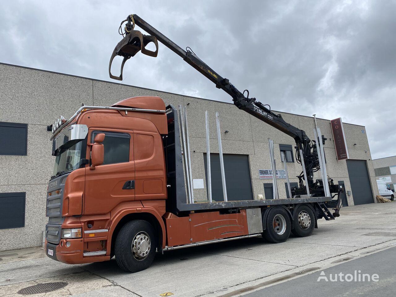 SCANIA R580. Holztransport. timber truck