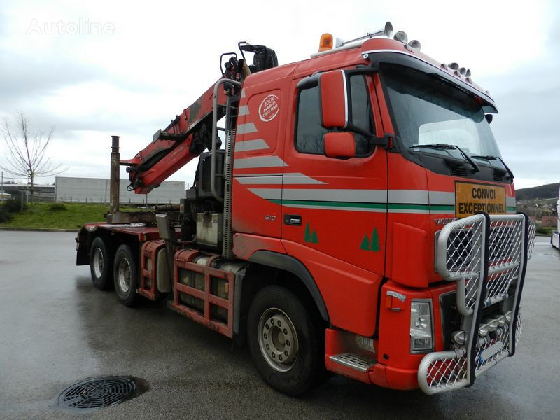 VOLVO FH 16-610 2007 For long woods z EPSILON S300L98 2013 timber truck