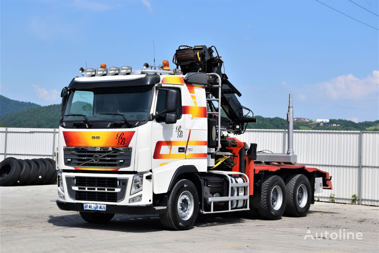 VOLVO FH 16 750 Holztransporter * 6x4 ! Top Zustand ! timber truck