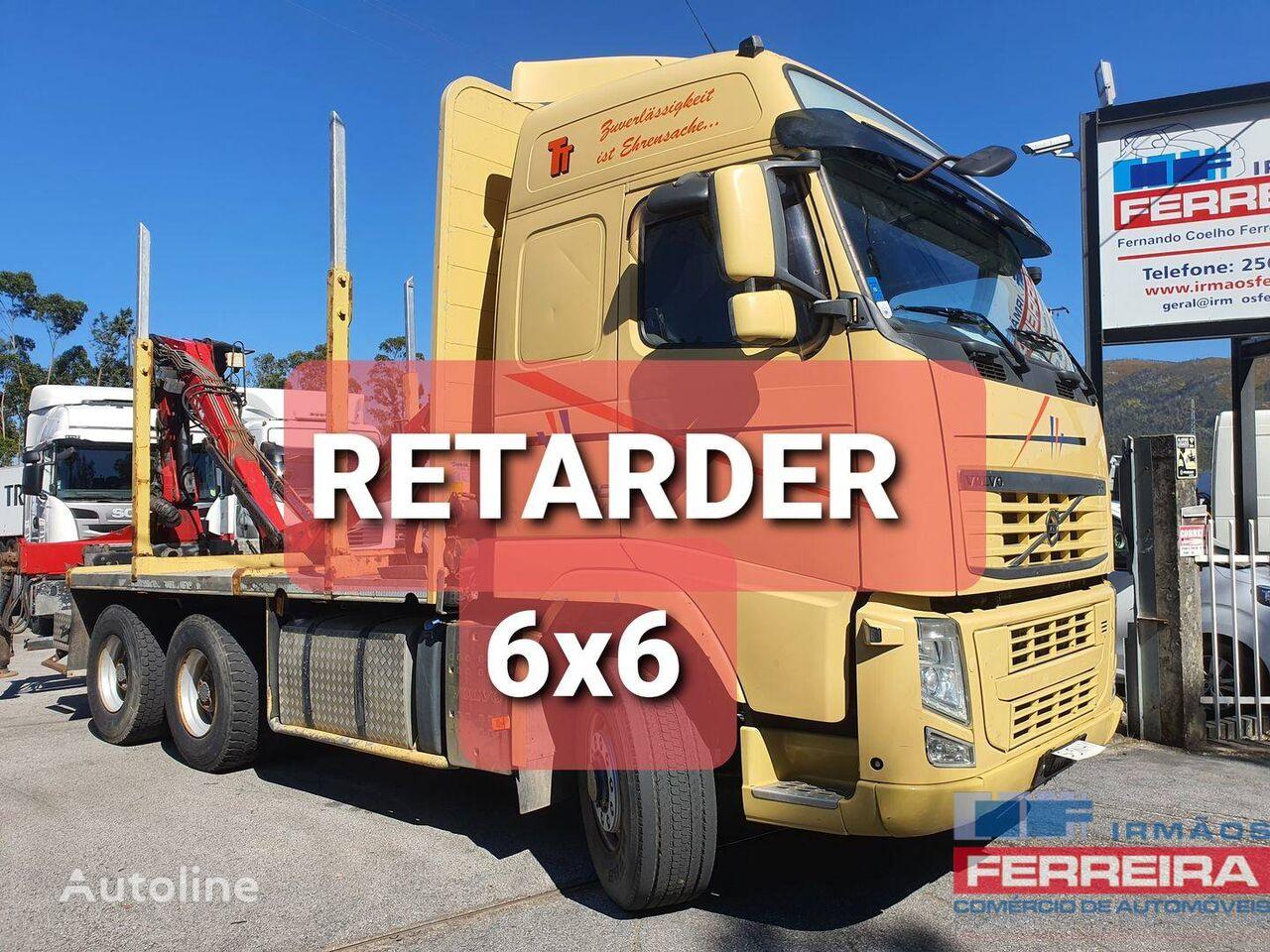 VOLVO FH 500 EEV /2012/6X6/RETARDER/GRUA PENZ timber truck