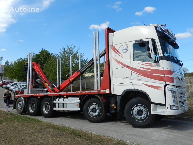 VOLVO FH 540 for shorts woods timber truck