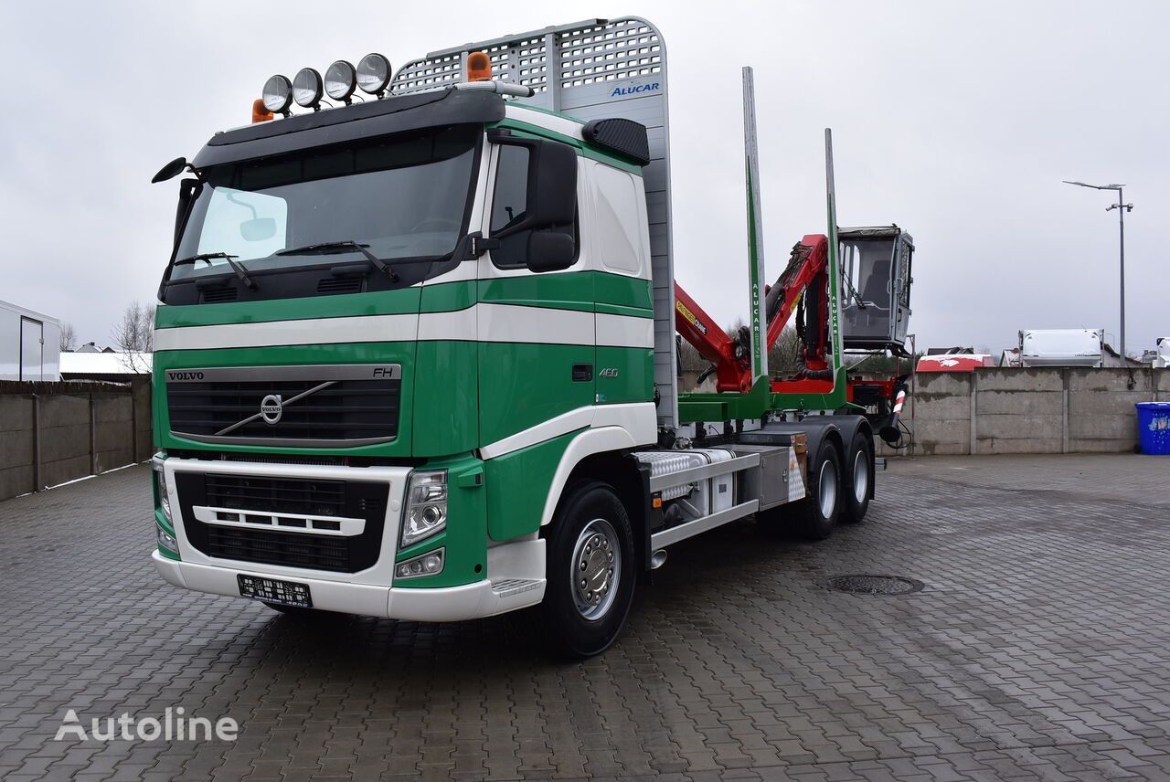 VOLVO FH12 460 timber truck