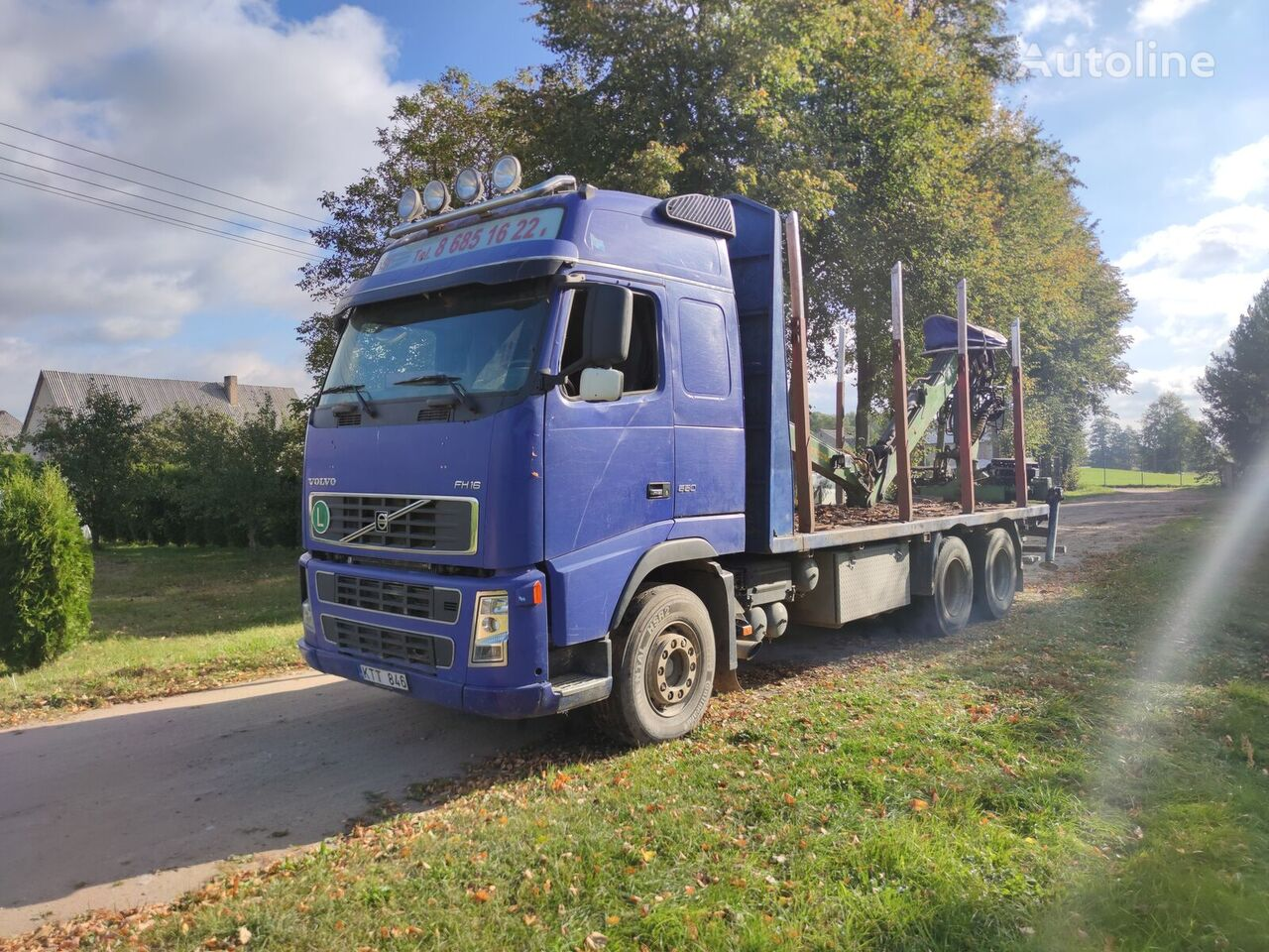 VOLVO FH16 550 timber truck