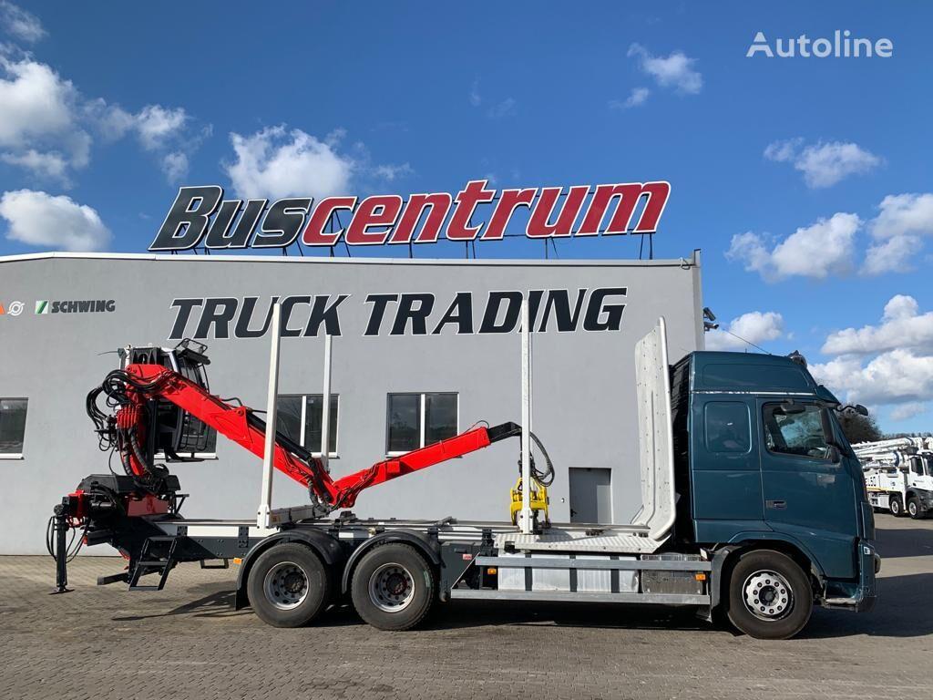 VOLVO FH16 600 6x4 XCAB Jonsered Loglift timber truck