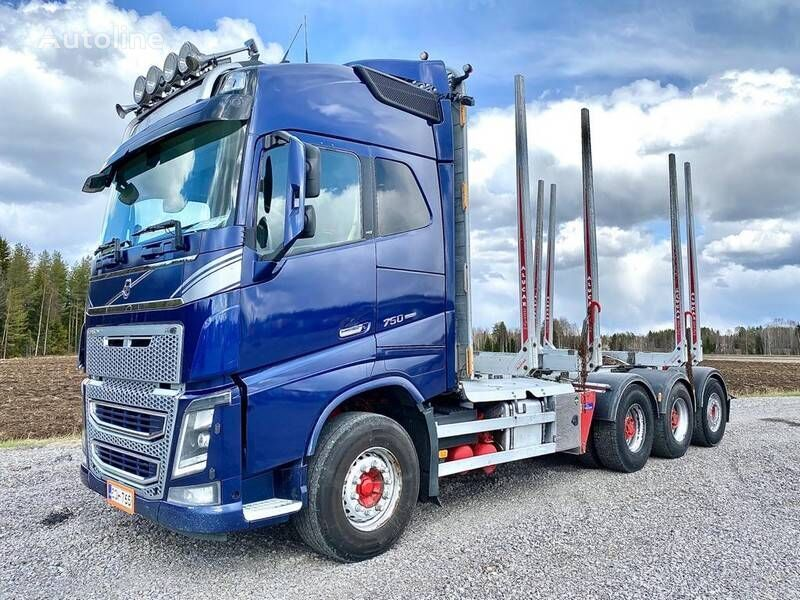 VOLVO FH16 750 timber truck