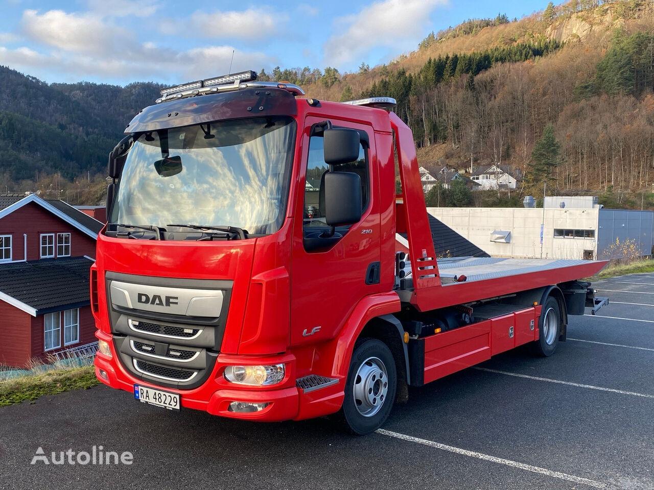 DAF LF 8,3t 213 hk tow truck
