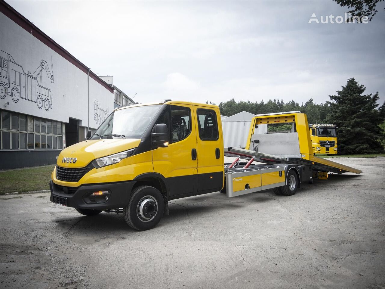 new IVECO 70C18D/P tow truck