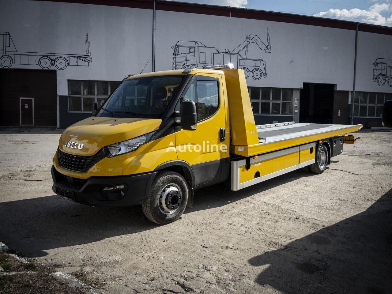 new IVECO 70C18P tow truck