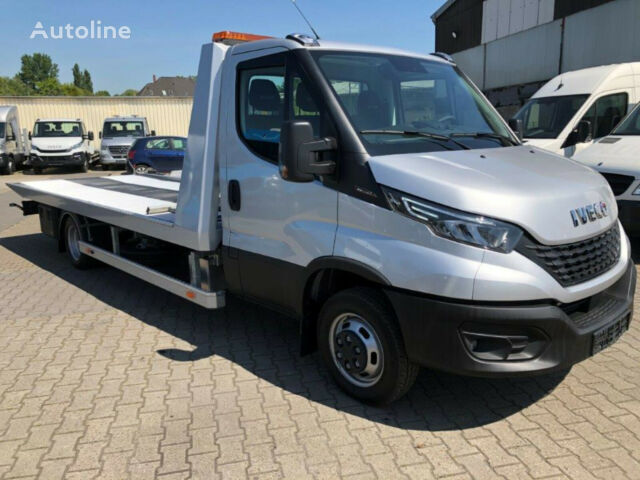 new IVECO Daily 52C18/ Schiebeplateau, LED, SOFORT tow truck