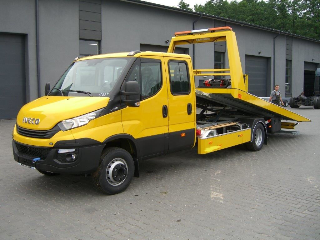 New IVECO Daíly 70C18/ 5,4m Schiebeplateau,Brille Finanzierung tow ...