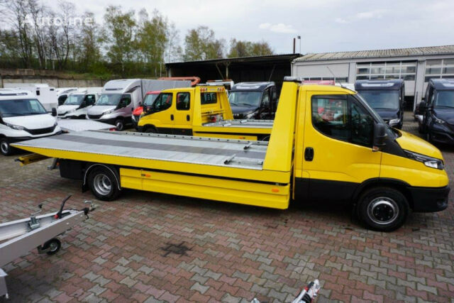 new IVECO Daíly 72C18/ 6,1m Schiebeplateaue,LED,AHK SOFORT tow truck