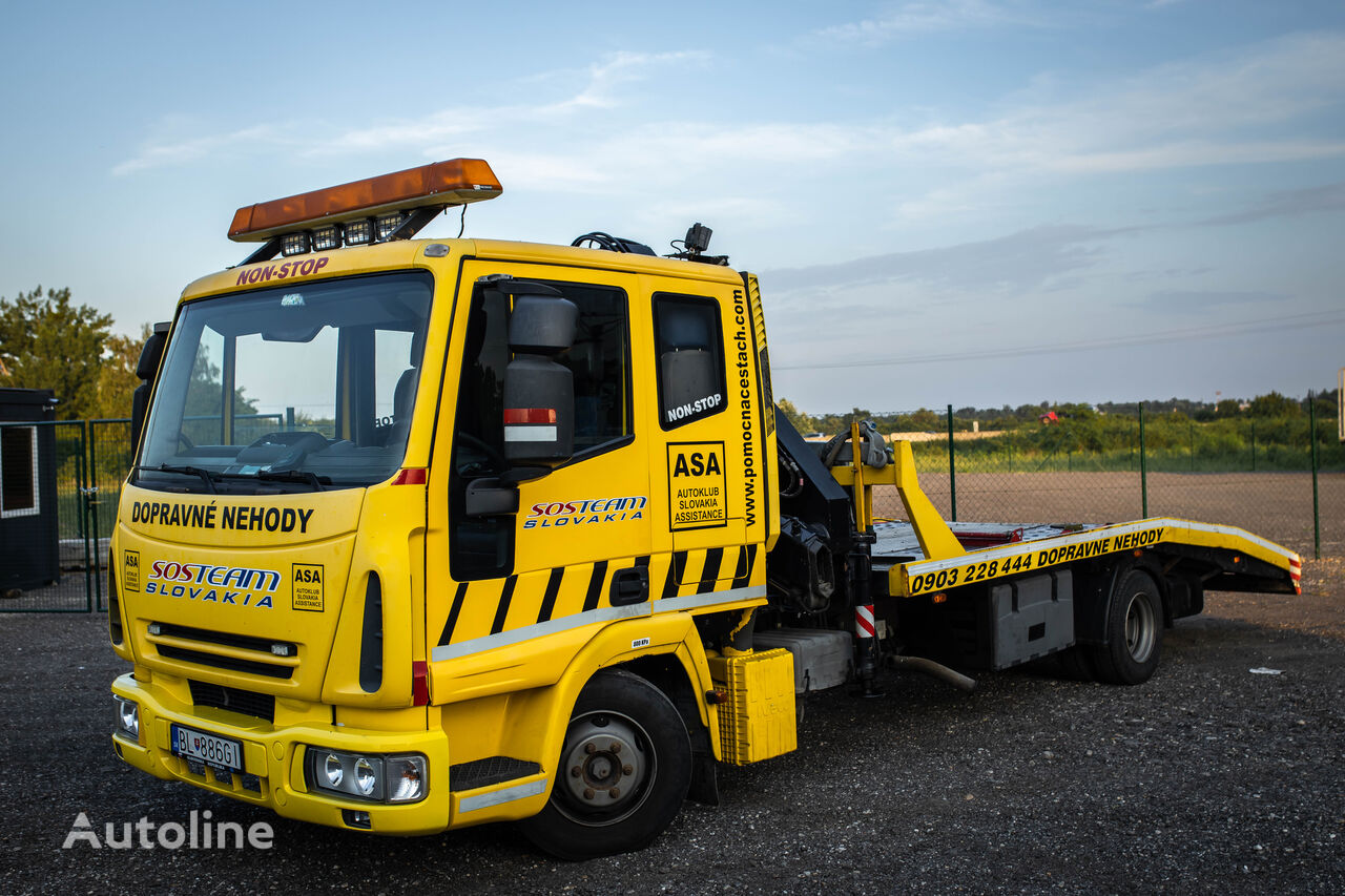 IVECO EuroCargo with Crane tow truck