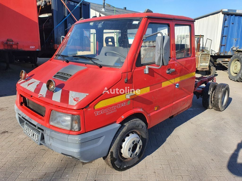 IVECO TurboDaily 59-12 intercooler Takelwagen tow truck