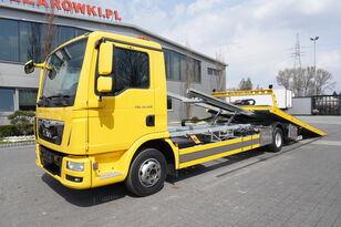 MAN TGL 12.220, NEW BODY, hydraulic ramp, tug, NEW TIR tow truck