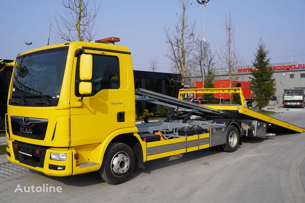 MAN TGL 8.180 , E6 , 90k km , NEW ASSISTANCE BODY 2020 , hydraulic , tow truck