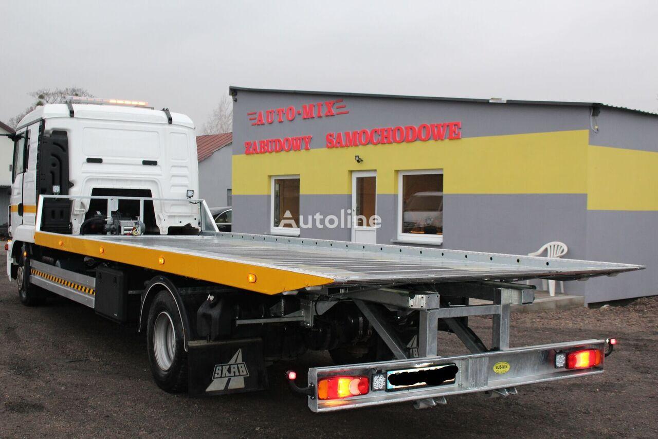 new MAN nowa zabudowa pomoc drogowa platforma hydrauliczna tow truck