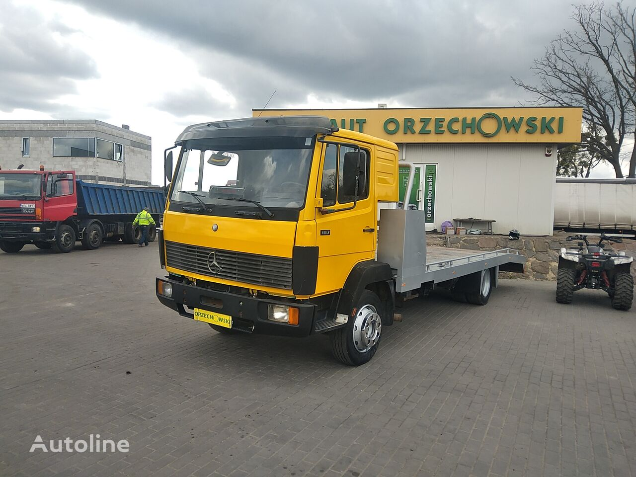 MERCEDES-BENZ 1117 tow truck
