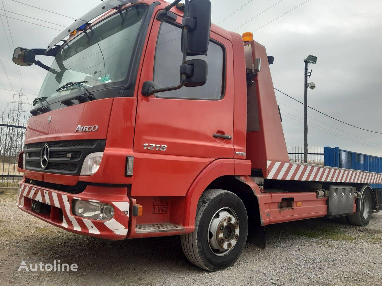 MERCEDES-BENZ 12180 tow truck