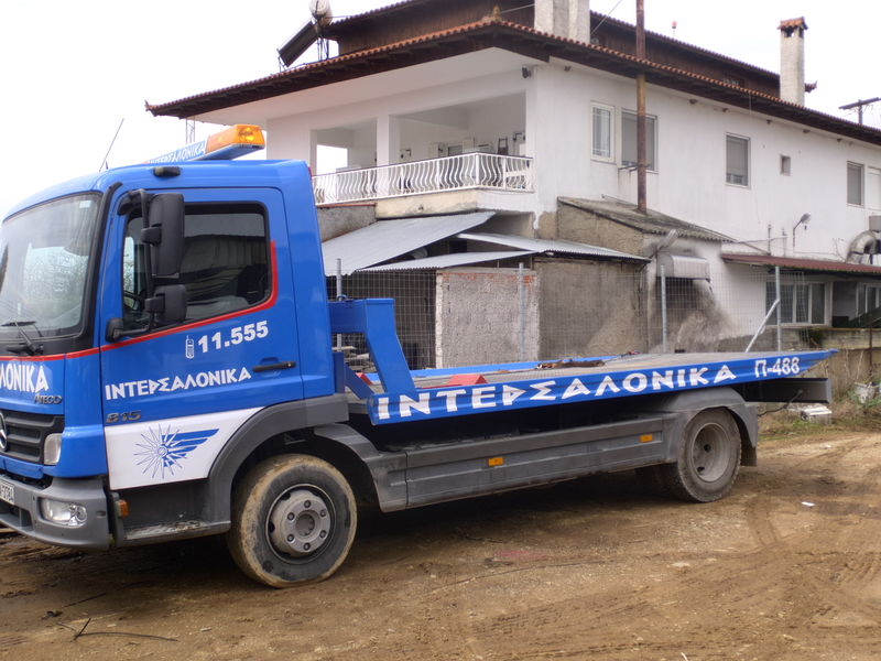 new MERCEDES-BENZ Atego tow truck
