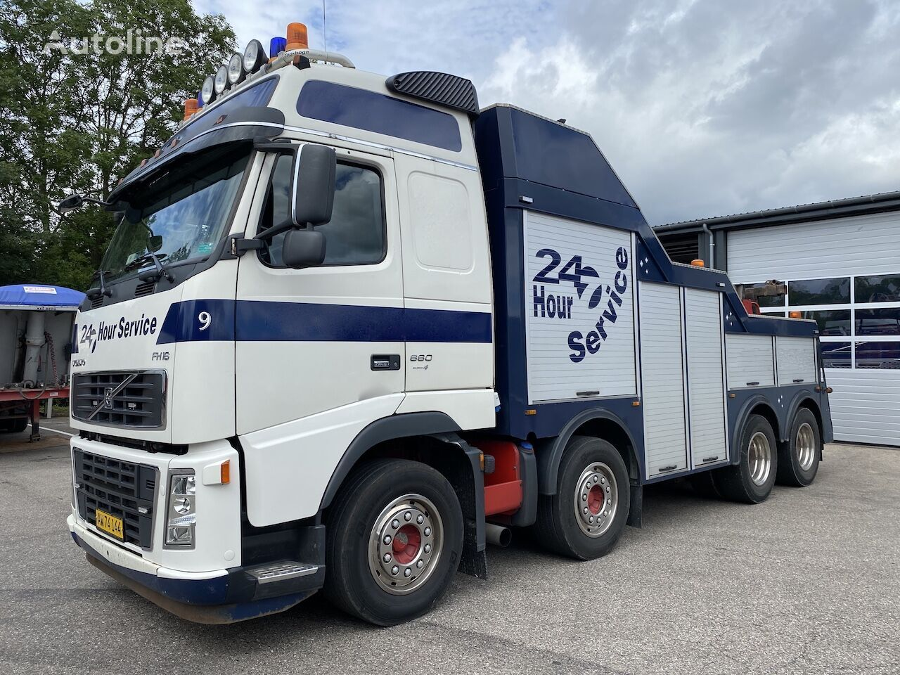VOLVO FH660 Bugsering tow truck