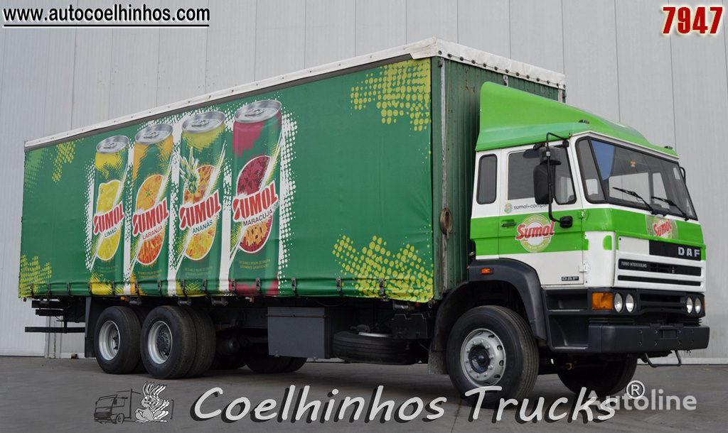 DAF 2500 Ti truck curtainsider