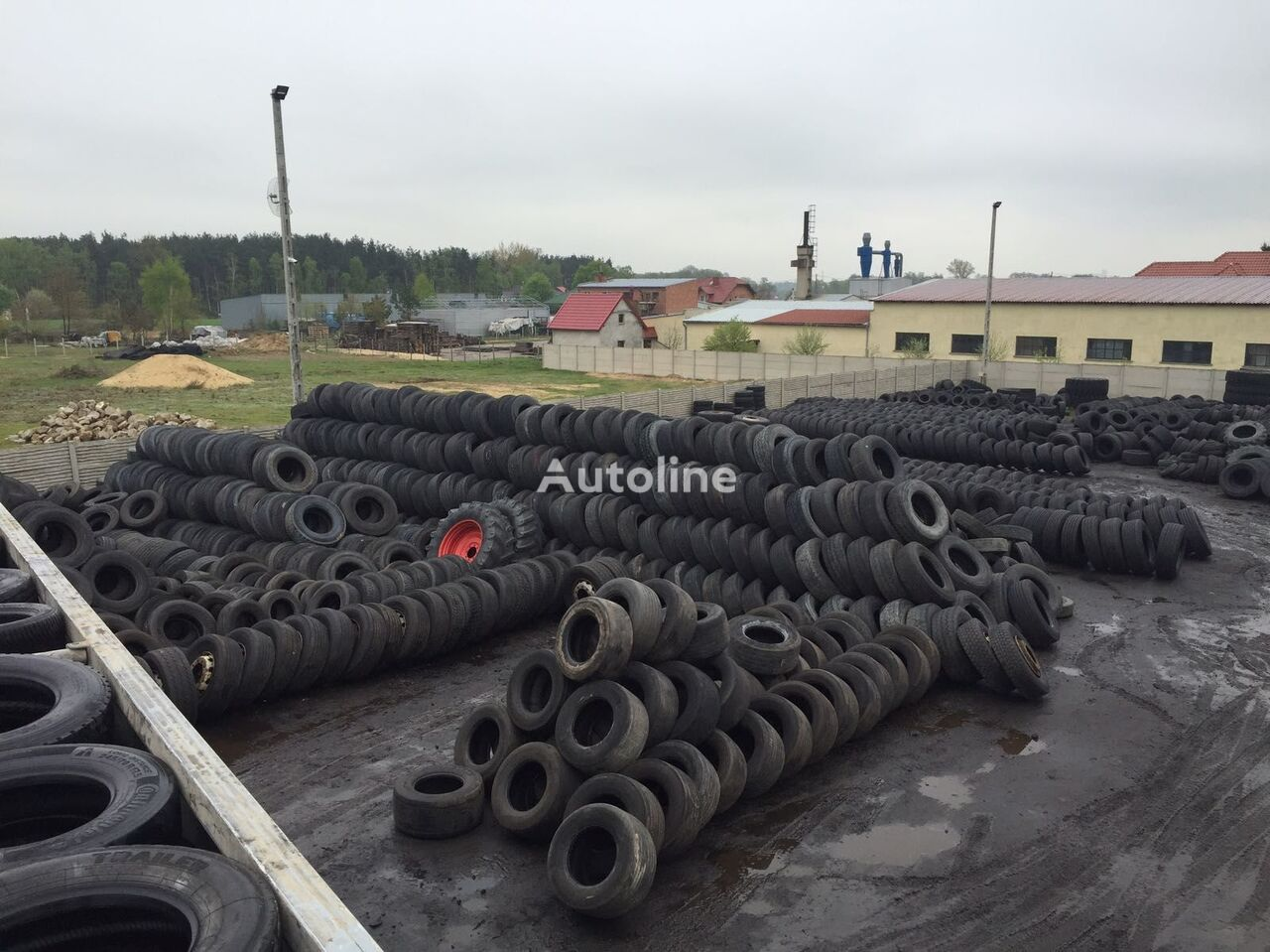 Continental 385/55/19.5 truck tyre