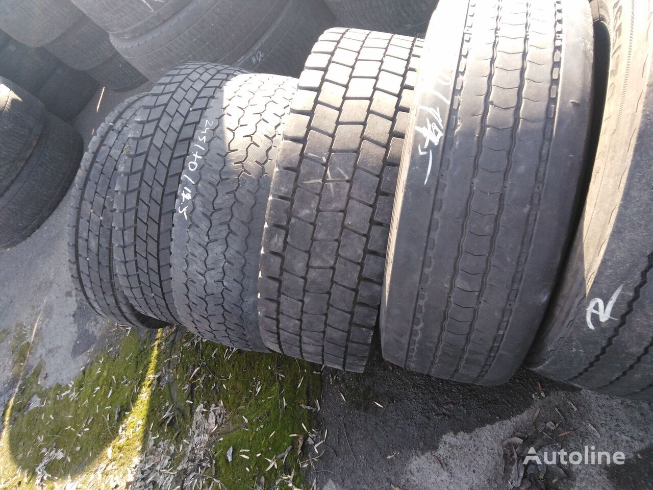 Goodyear 285/70 R 19.50 truck tyre