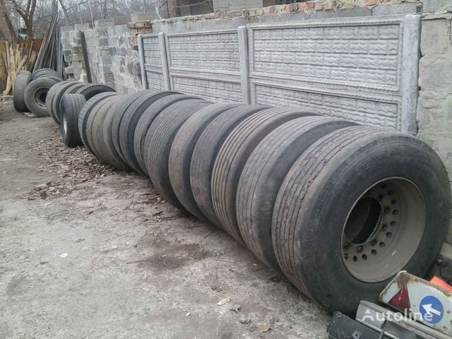 Michelin Bridgestone, Dunlop, Sava  385/65 R 22.50 truck tyre