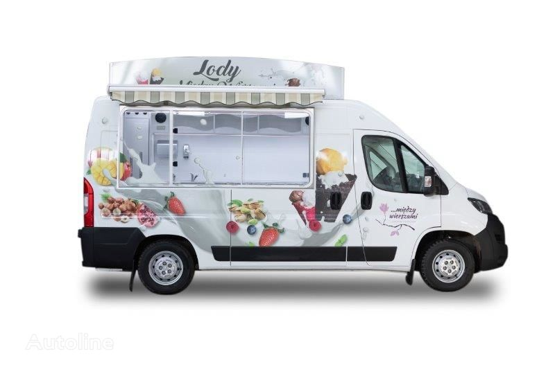 new BANNERT L2H2  HIT Zabudowa samochodu Witryna lodowa na GLIKOL 8-10 godzi vending truck