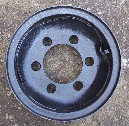 new 8,25-15 forklift wheel disk