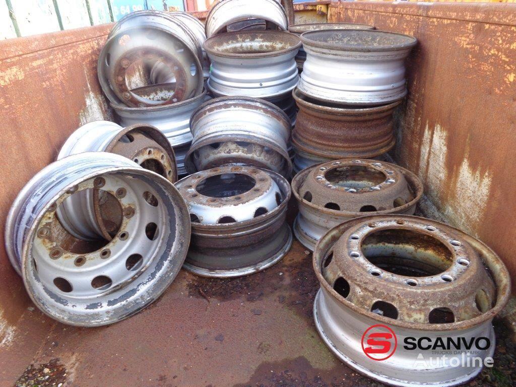 Diverse Løse stålfælge truck wheel rim