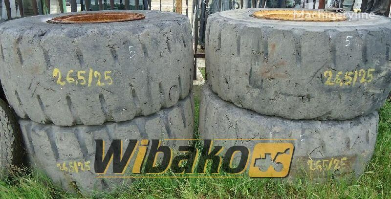 26.5/25 (19/45/49) wheel loader tire