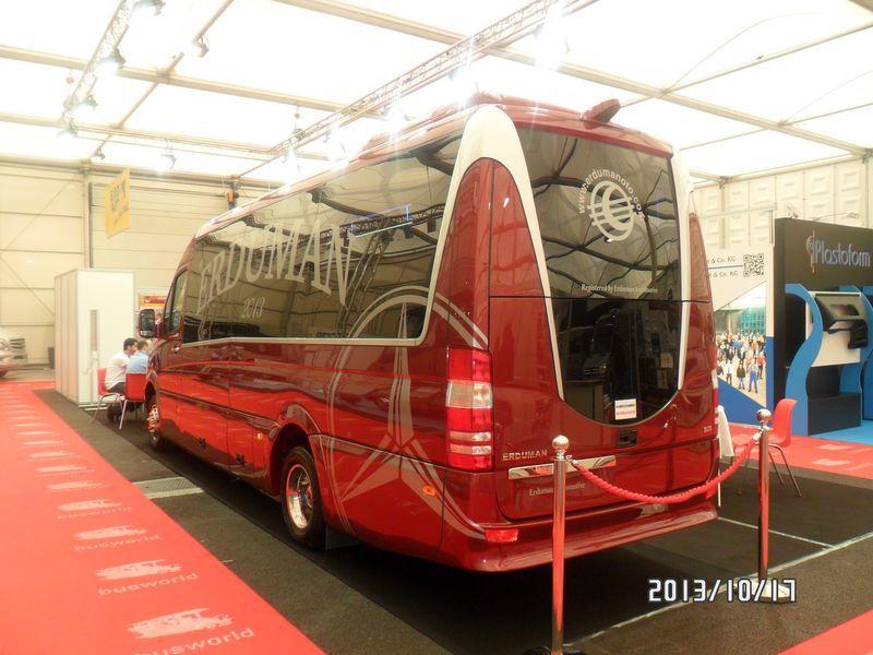 new MERCEDES-BENZ SPRINTER LUXUS - ERDUMAN passenger van