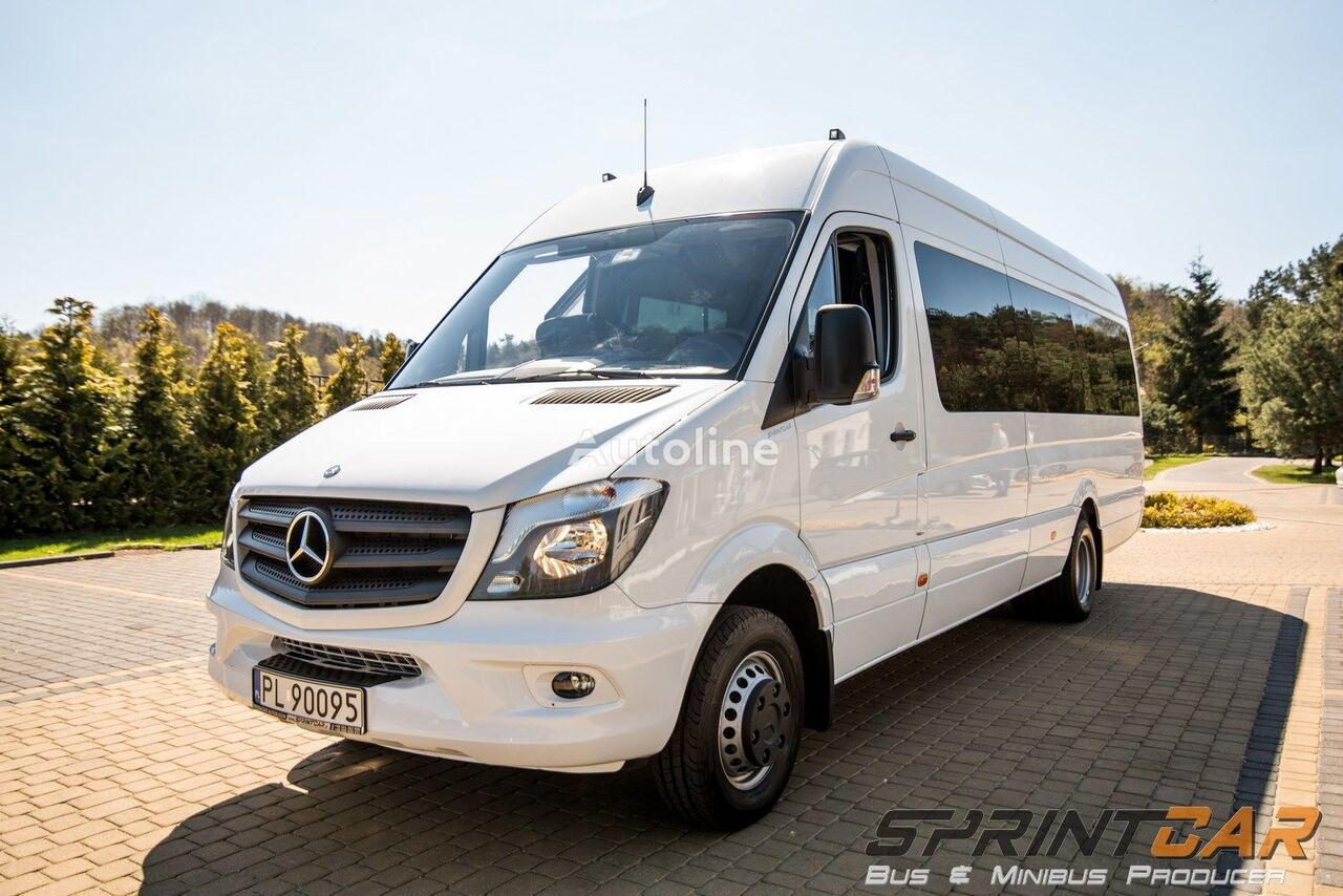 New mercedes benz sprinter 519 euro6 passenger van for for Mercedes benz sprinter passenger