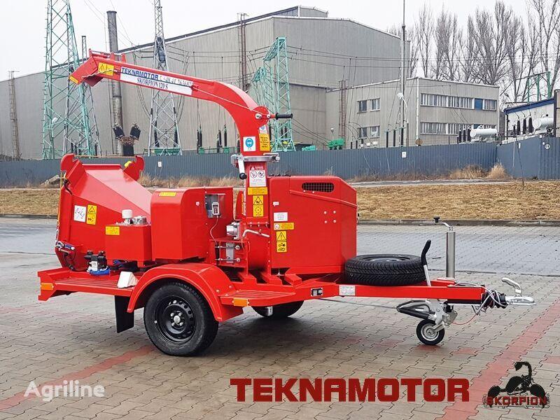 new TEKNAMOTOR Skorpion 120 S wood chipper
