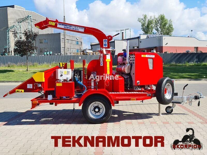new TEKNAMOTOR Skorpion 250 SDTG wood chipper