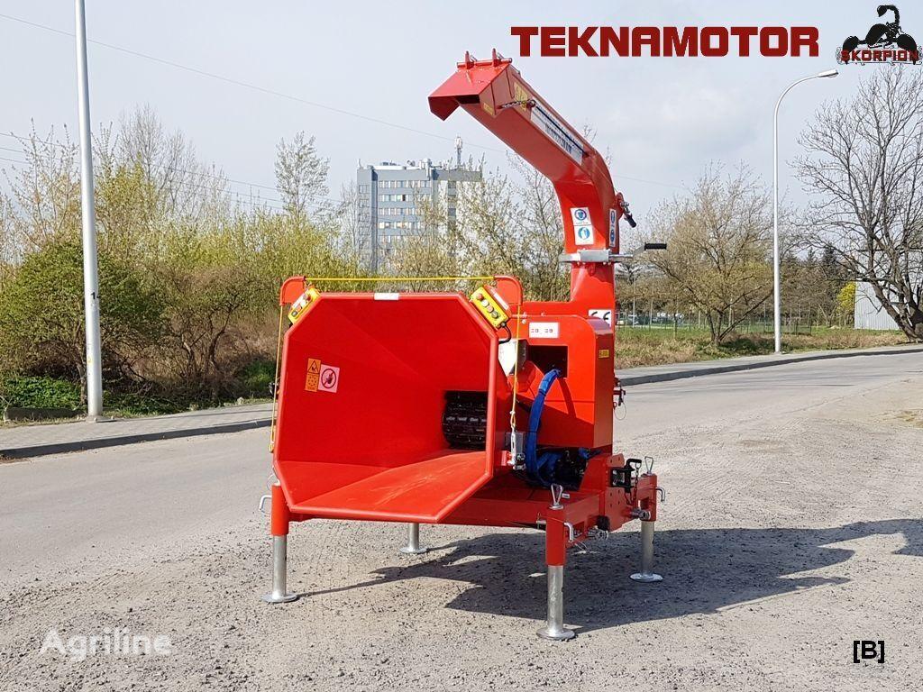 new TEKNAMOTOR Skorpion 250R/90 wood chipper
