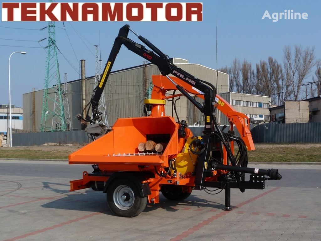 new TEKNAMOTOR Skorpion 500 RB wood chipper