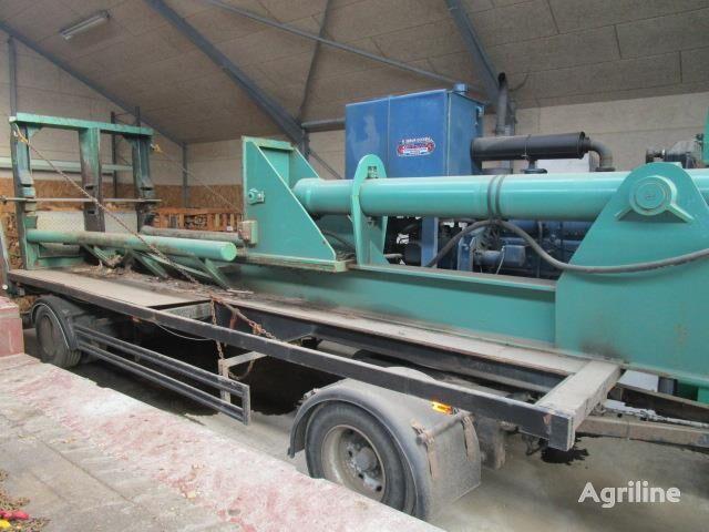 Træflækker 140-280 ton wood chipper