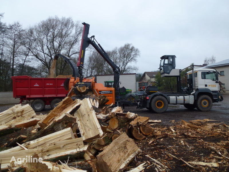 new Doppstadt MAN Multifunctionstrac MFT wood chipper