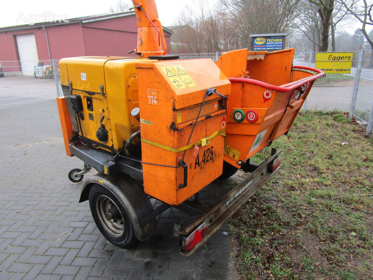JENSEN A425DI wood chipper