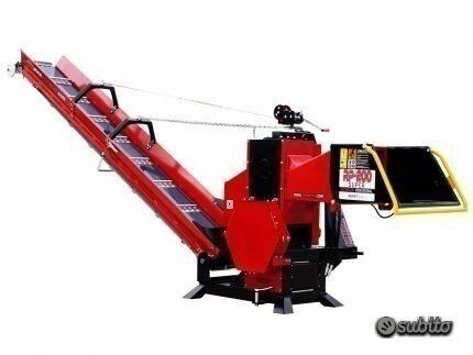 new REMET CNC wood chipper