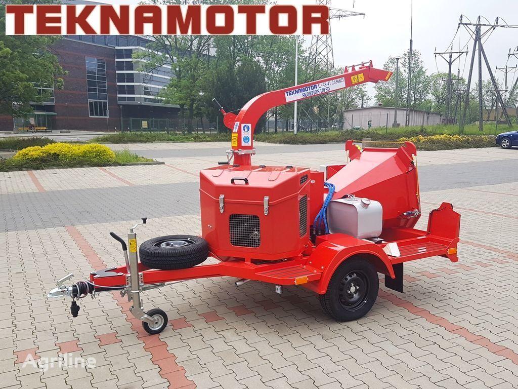 new TEKNAMOTOR Skorpion 120 SD wood chipper