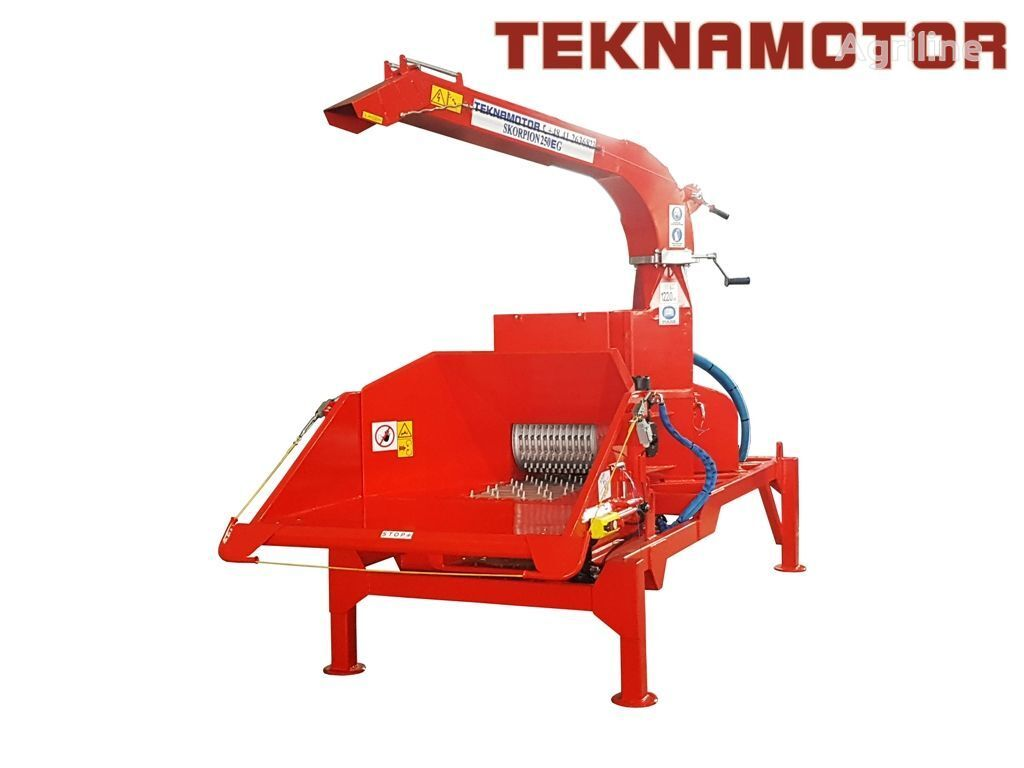 new TEKNAMOTOR Skorpion 250 EG wood chipper