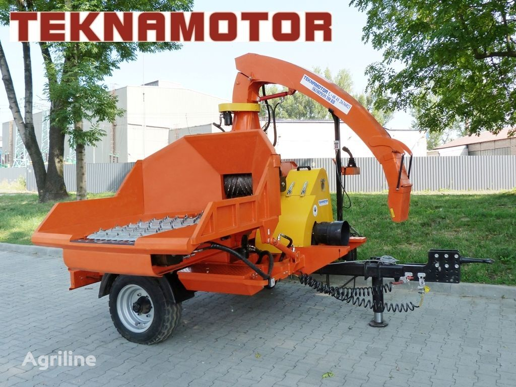 new TEKNAMOTOR Skorpion 350 RB wood chipper