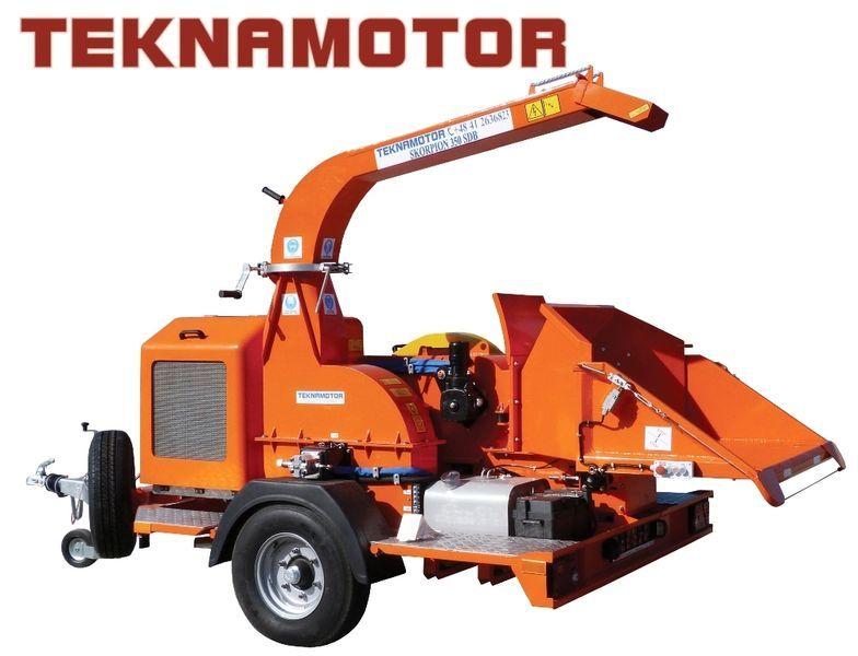 new TEKNAMOTOR Skorpion 350 SDB wood chipper
