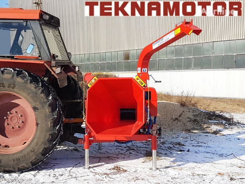 new TEKNAMOTOR Skorpon 160 R/90 wood chipper