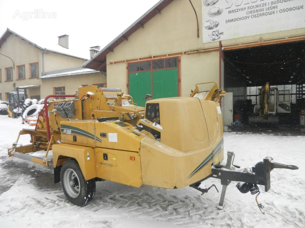 VERMEER HG 200 rębak chipper wood chipper